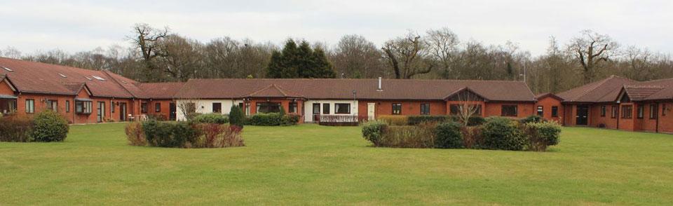 Perton Manor caree home - rear view